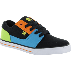 DC Bristol Canvas Kids Shoes - Black/Multi