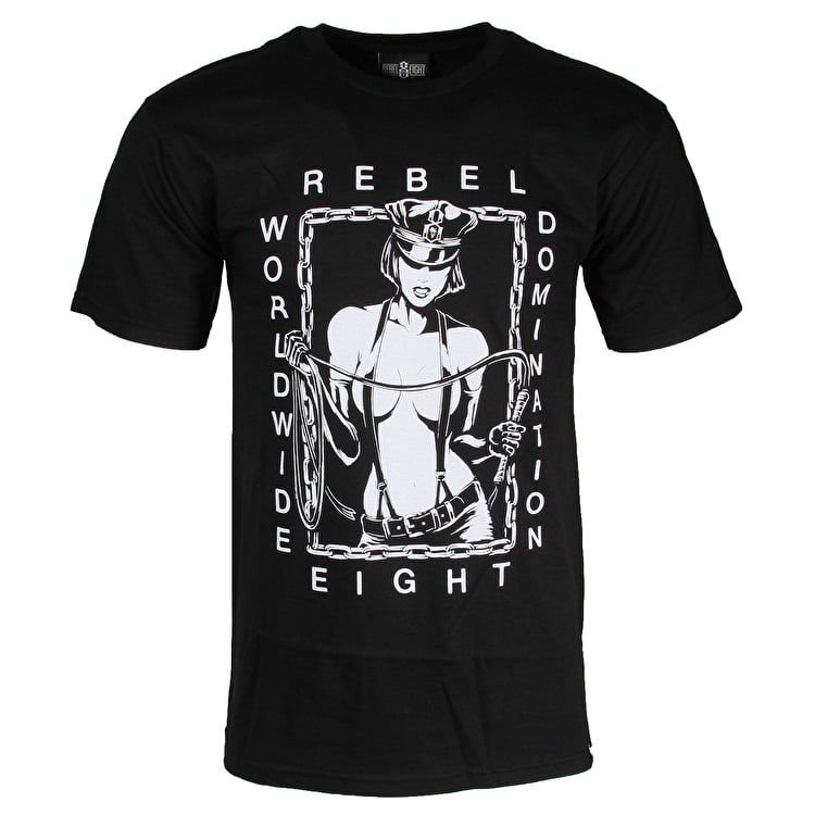 Rebel8 Dominatrix T-Shirt - Black