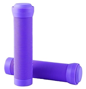 Blazer Pro Grips Flangeless with End Plugs Neon Purple
