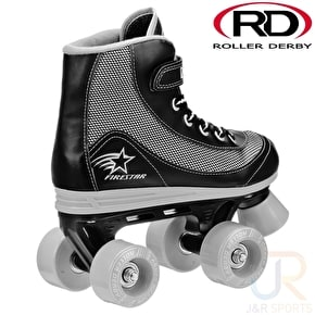 Roller Derby FireStar V2 Quad Roller Skates - Black/Grey