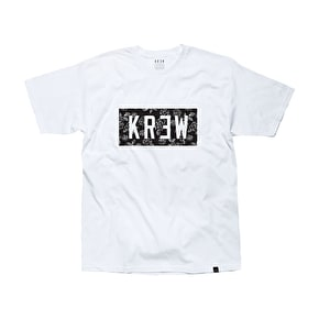Kr3w Rose Locker T-Shirt - White