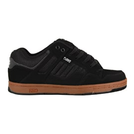 DVS Enduro 125 Skate Shoes - Black Reflective Gum Nubuck