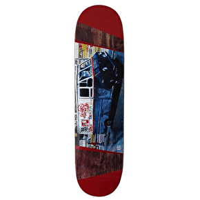 A Third Foot Mean Streets Skateboard Deck - Ice Truck 8.25