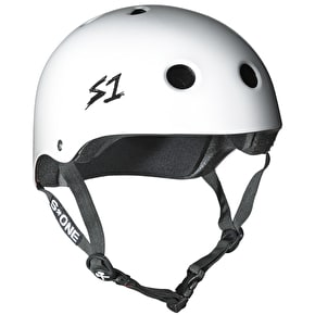 S1 Lifer Multi Impact Helmet - White Gloss
