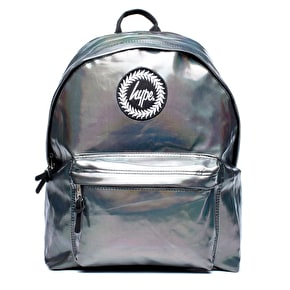 Hype Backpack - Holographic Polka Black