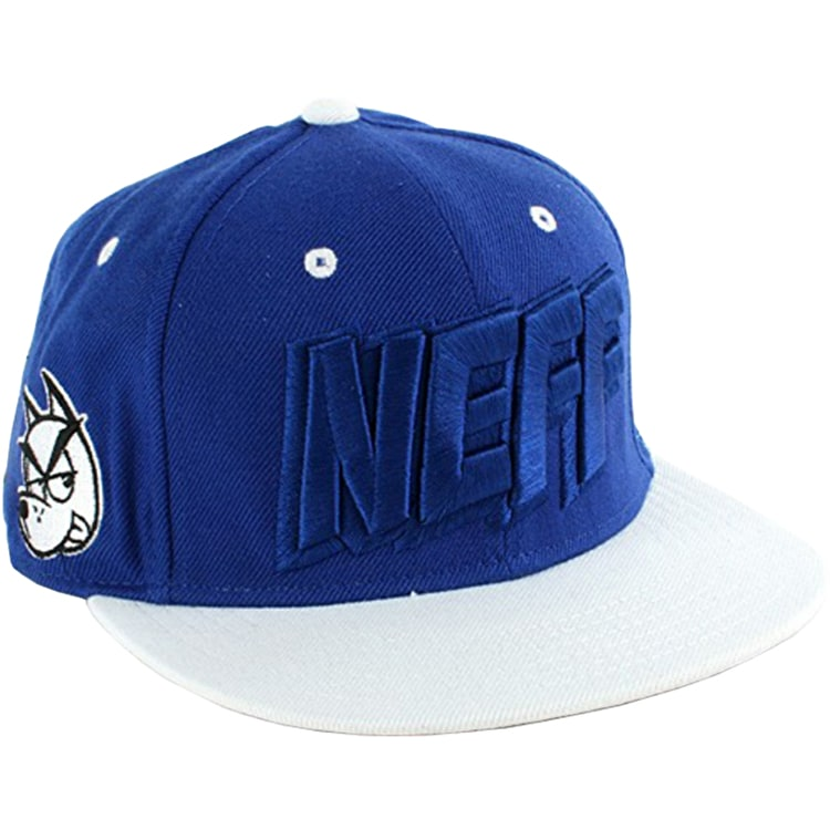 Neff Streets Snoop Dogg Snapback - Blue / White