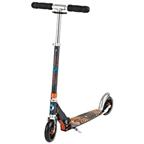 Micro Speed Folding Commuter Scooter - Black/Orange
