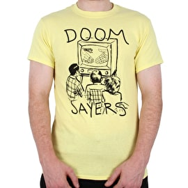 Doomsayers Kill Television T Shirt - Yellow