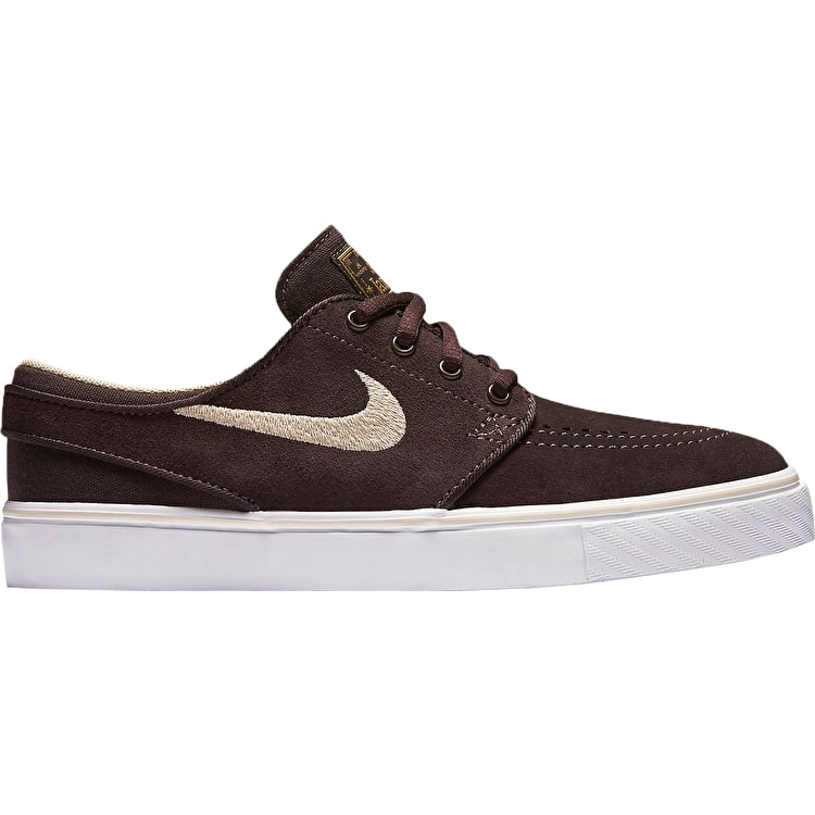 B-Stock Nike SB Stefan Janoski (GS) Kids Skate Shoes - Cappuccino/Sanddrift UK 3 (Box Damage)