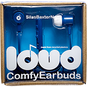 Loud Fat and Flat Earphones - Silas Baxter Neal