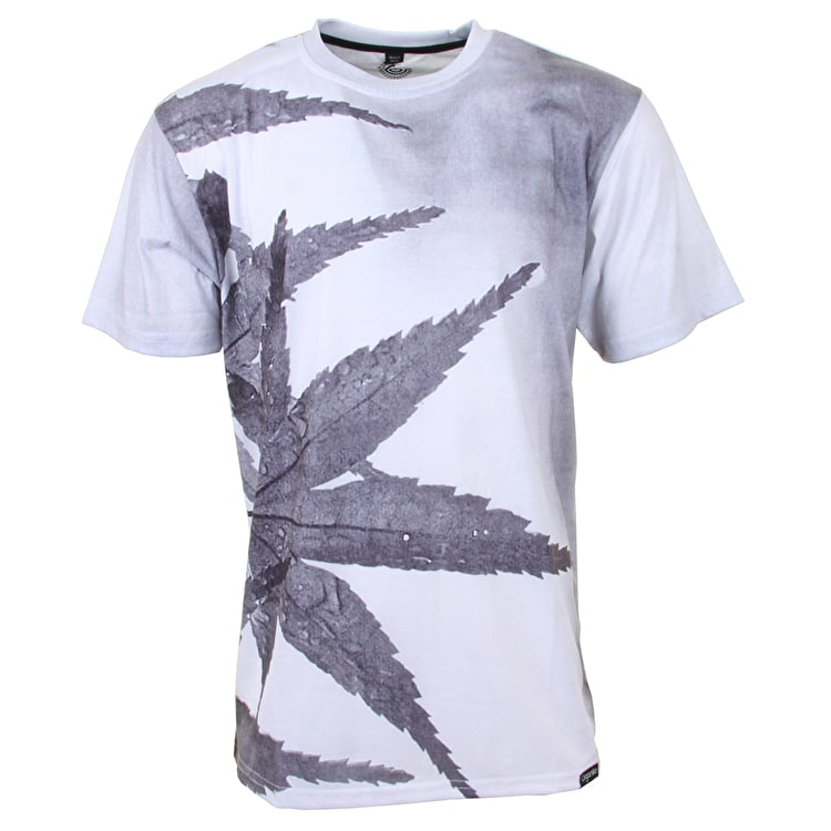 Organika Morning Leaf T-Shirt - White