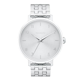 Nixon Arrow Womens Watch - All Silver