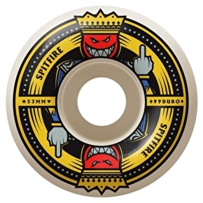Spitfire Anti Up 99a Skateboard Wheels - 53mm (Pack of 4)