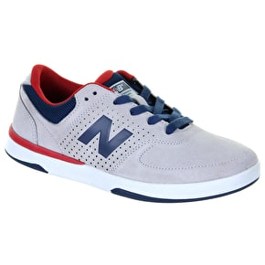 New Balance PJ Stratford 533 Shoes - Grey/Red Suede