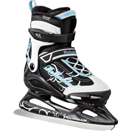 Rollerblade Comet XT Ice Figure Skates - White/Light Blue