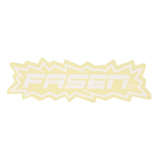 Fasen Sticker - White