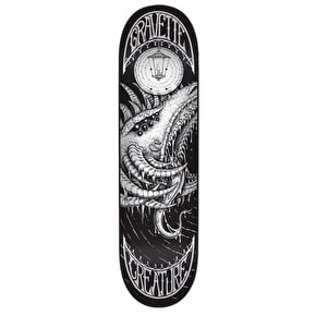 Creature Skateboard Deck - Demons Gravette Black/White 8.25