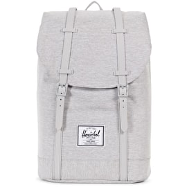 Herschel Retreat Backpack - Light Grey Crosshatch/Grey Rubber