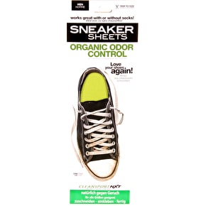 Sneaker Sheets Men's Odour Control Insoles - Yellow UK 7-12