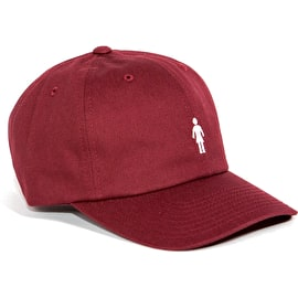 Girl Micro OG 6-Panel Cap - Burgundy