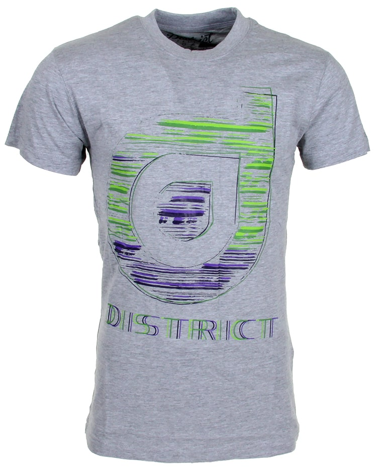 Image of District Supply Co. Sketch T-Shirt - Athletic Heather