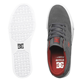 DC Nyjah Vulc Shoes - Dark Shadow