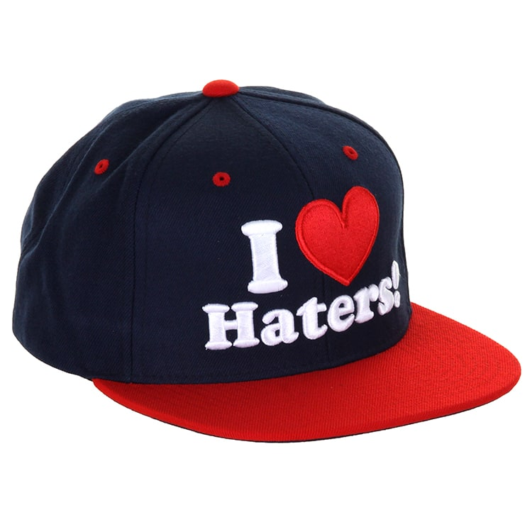 DGK Haters  Cap - Navy/Red