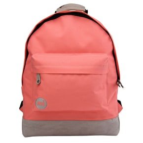Mi-Pac Classic Backpack - Coral/Grey