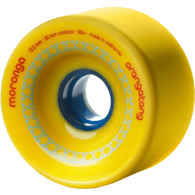 Orangatang Moronga Wheels 72.5mm Yellow