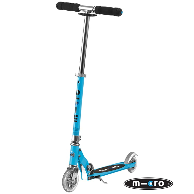 Micro Sprite Folding Scooter - Light Blue