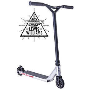 Crisp Lewis Williams Replica Complete Scooter - Raw/Black