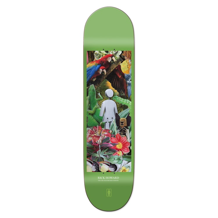 Girl Jungle Howard Skateboard Deck 8.5""