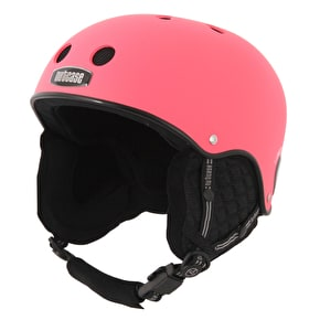 Nutcase Classic Snow Helmet - Party Pink Matte