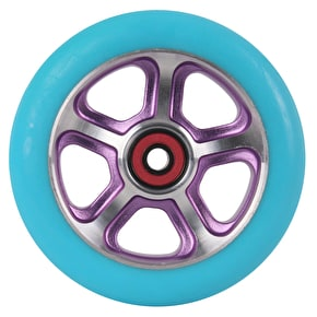 MGP DDAM CFA Scooter Wheel - Purple / Turquoise 110mm