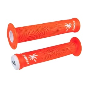 ODI Hucker BMX Grips - Orange/White