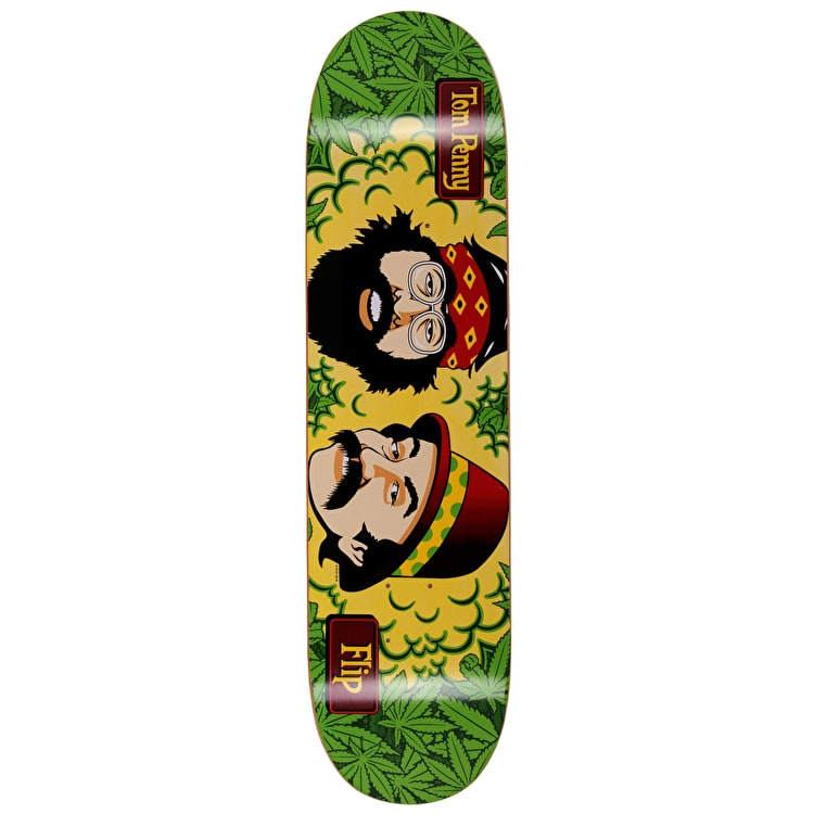 Flip Cheech And Chong Skateboard Deck - Mary Jane 8""
