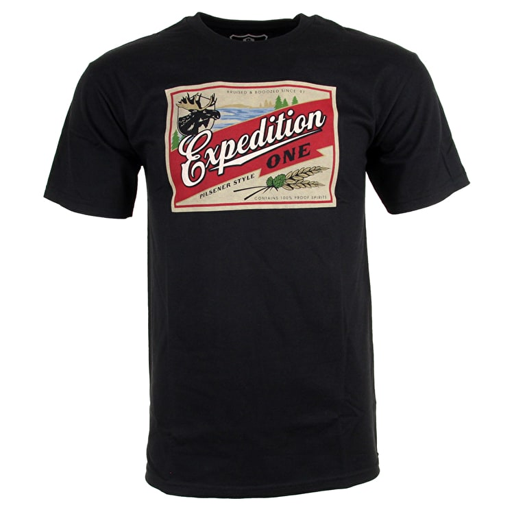 Expedition One Boozed T-Shirt - Black
