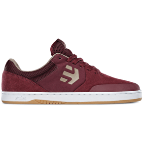 Etnies Marana Skate Shoes - Burgundy