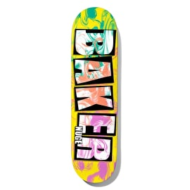 Baker Brand Name Ink Drops - Nuge Skateboard Deck 8