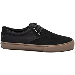 Lakai MJ Skate Shoes - Black/Gum