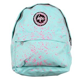 Hype Speckle Backpack - Mint/Pink