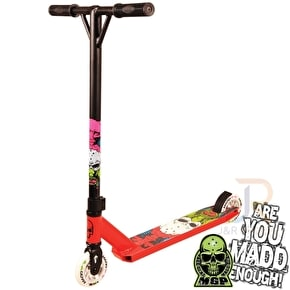 Madd Nuked Pro Complete Scooter - Red
