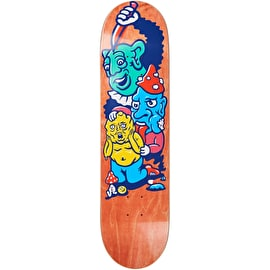 Polar Meltdown Grund Skateboard Deck 8.125