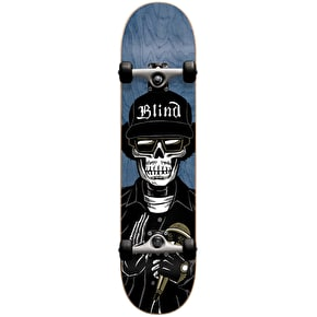 Blind Reaper E Premium Kids Complete Skateboard w/Stocking - Blue 7