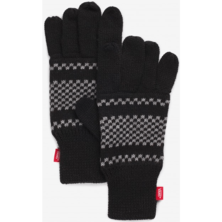 Vans Checkerboard Gloves - Black