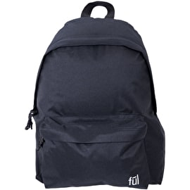 FUL Seamus Backpack - Solid Black