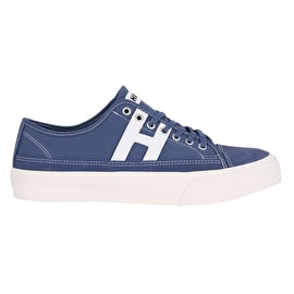 Huf Hupper 2 Lo Skate Shoes - Blue Night