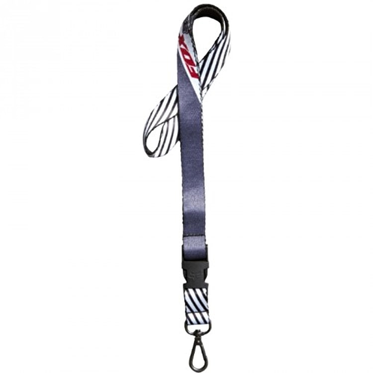 Fox Decadence Lanyard - Charcoal
