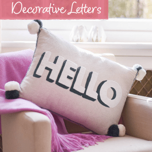 Decorative Letters | Home | The Letteroom