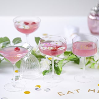 LSA Personalised Mixed Champagne Coupes Set
